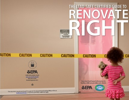 Lead Safe Certified Guide to Renovate Right EPA
