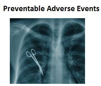 Preventable Adverse Events home page