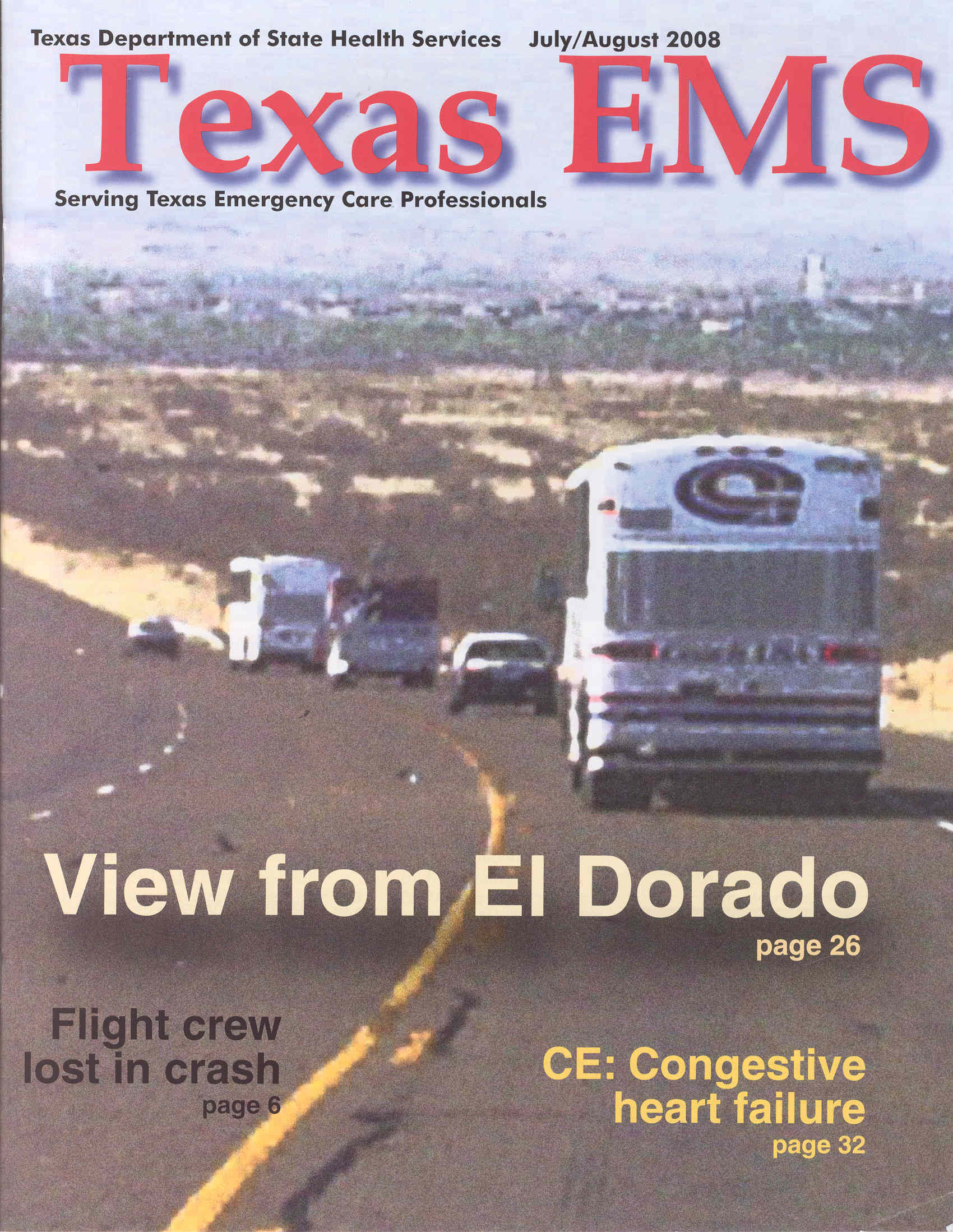 July August 2008 Cover