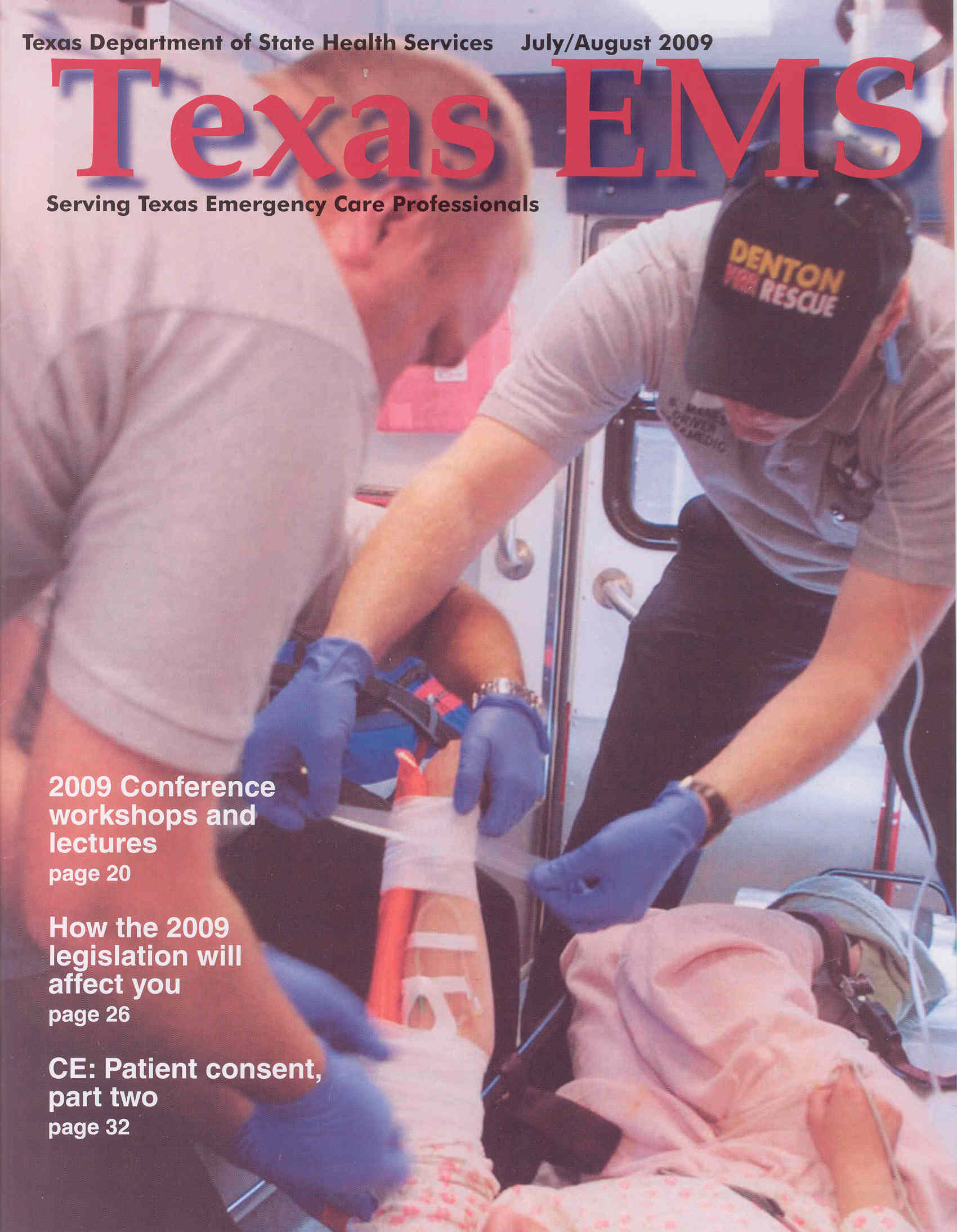 July August 2009 Cover