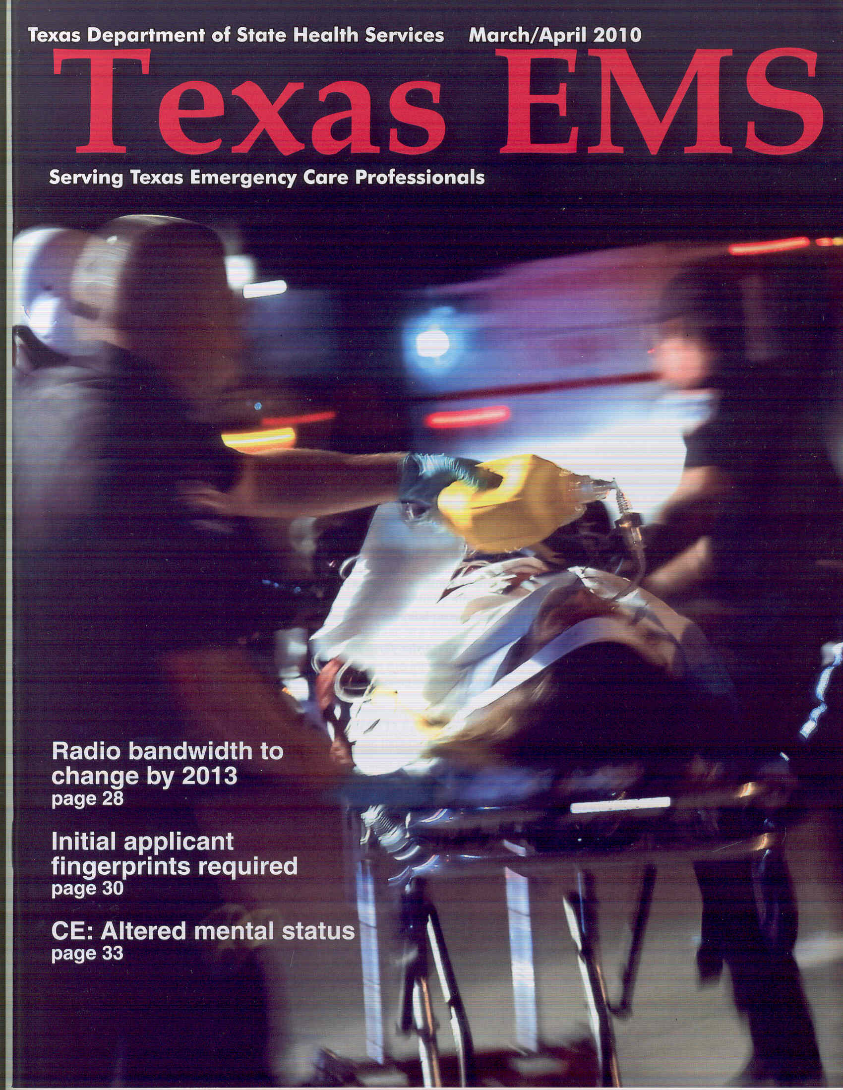 March April 2010 Cover
