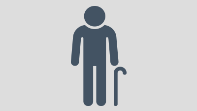 Icon of elderly person